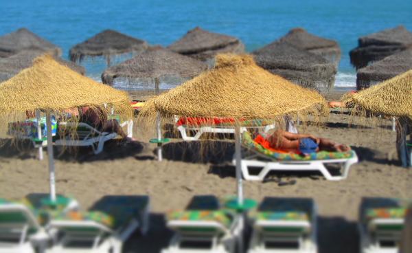 benalmadena-strand-hamacas